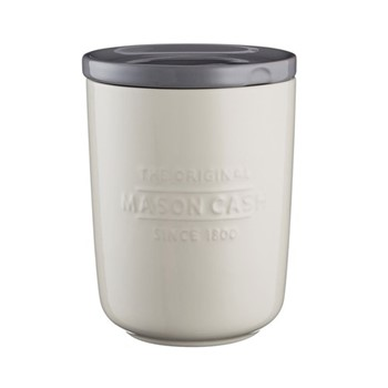 Innovative Kitchen Medium storage jar, H16.5 x L12cm, cream