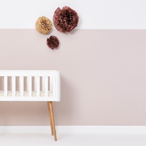 Rice - Organic Crib Fitted sheet, W35 x L80cm, Linen