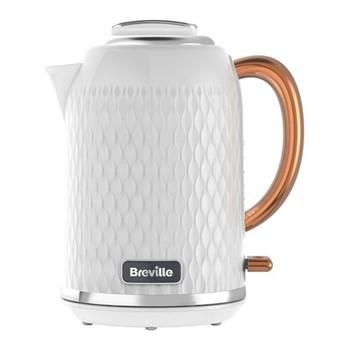 Curve - VKT018 Jug kettle, 1.7 litres, white & rose gold