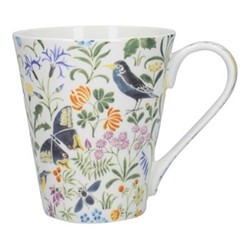 Bee Garden Mug, H11 x W14 x L10cm, multicoloured