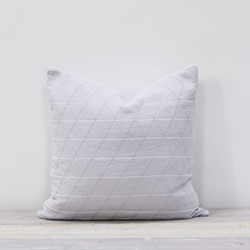 Stockholm Cushion, 50 x 50cm, silver grey