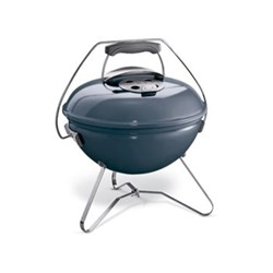 Smokey Joe Premium Charcoal barbecue, slate blue