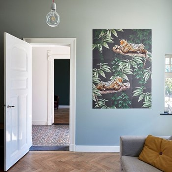 Graphic - Chilling in the Jungle & Into the Wild Wall decoration, 120 x 160cm