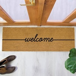 Welcome Patio Doormat, 120 x 40cm