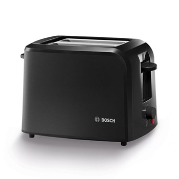 Village Collection Toaster, 19 x 31 x 16cm, black