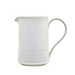 Natural Canvas Medium jug, 0.57 litre, Textured