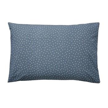Paper Doves Pair of standard pillowcases, L48 x W74cm, denim/blue