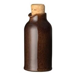Studio Craft Oil bottle, 24cl - 13.5 x 6.5cm, walnut