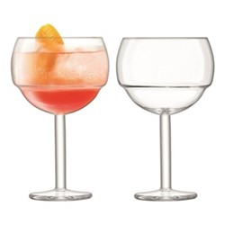 Mixologist Pair of cocktail balloon glasses, 0.52 litre