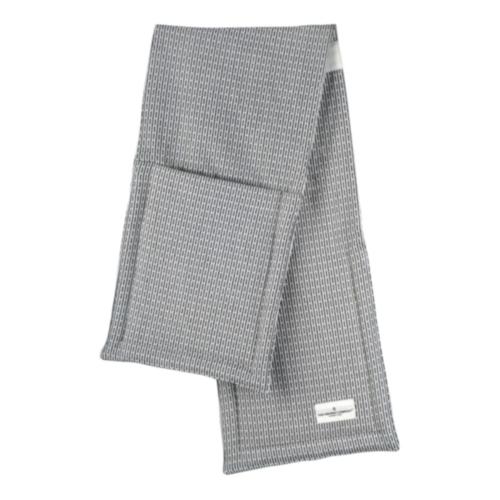 Pique Oven gloves, 22 x 100cm, Morning Grey