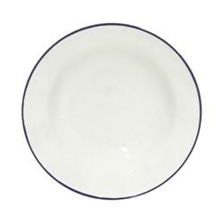 Beja Set of 6 soup/pasta plates, 21cm, white