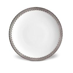Corde Dinner plate, 27cm, platinum