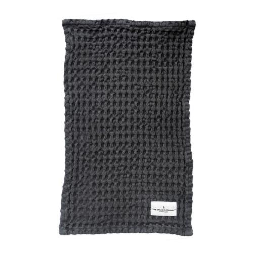 Waffle Wash cloth, 25 x 40cm, Dark Grey