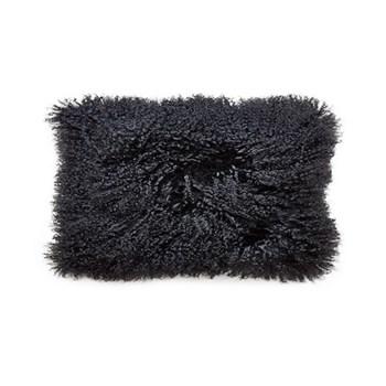 Mongolian Mongolian lumbar pillow, Black