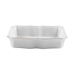 Impressions Medium rectangular baker, L30 x W21 x H6cm, White