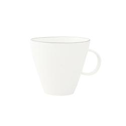Abbesses Set of 4 cups, Grey Rim
