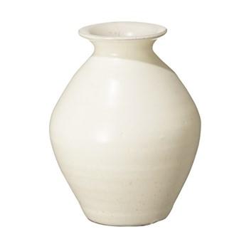 Fyli Small vase, L15 x W15 x H21cm, white