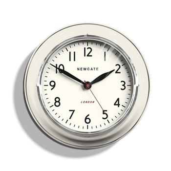 The Cookhouse Wall clock, 35 x 10cm, linen white