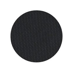 Mini Basketweave Set of 4 round coasters, 10cm, black