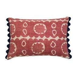 Osborne Cushion, 35 x 50cm, red