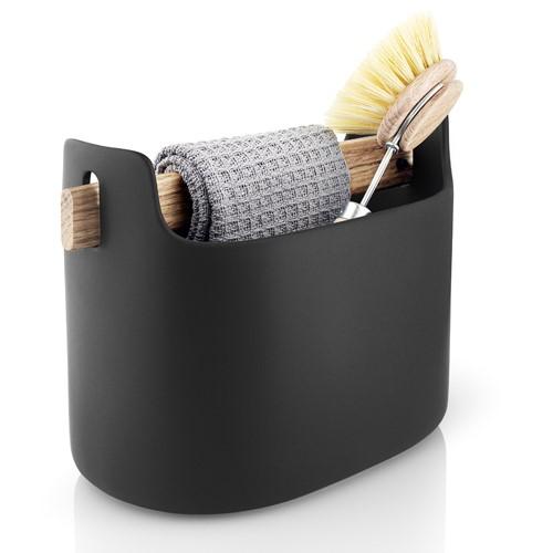 Toolbox Organiser, H15.5 x W22.5 x D12.5cm, Black