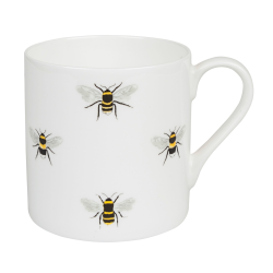 Bees White Mug, 275ml