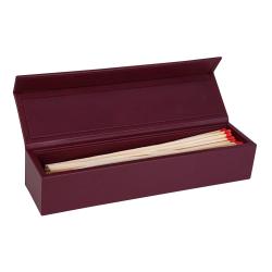 Chelsea Luxury matchbox, W.31.5 x H.8.5 cm, Cyclamen