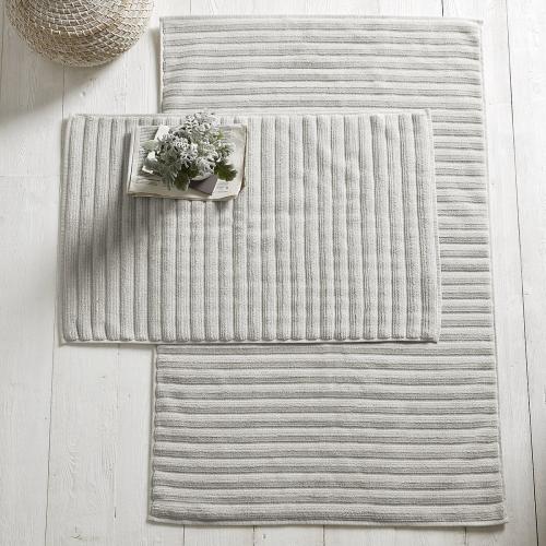 Hydrocotton Bath mat, 70 x 110cm, Pearl Grey
