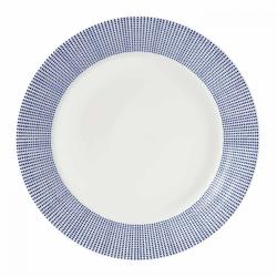 Pacific - Dot Dinner plate, 28cm, Blue