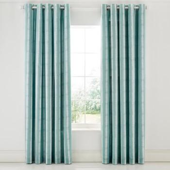 Akira Curtains, L228 x W168cm, teal