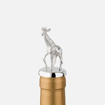 The Highland Safari Collection Stopper, D5 x H8cm, giraffe