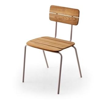 Flux Chair, L48 x W50 x H76.5cm, light grey