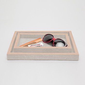 Manchester Pair of trays, sand