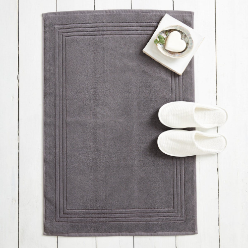 Egyptian Cotton Bath mat, 50 x 80cm, Slate