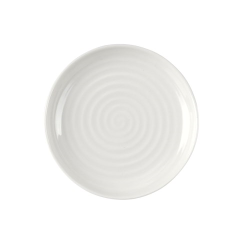 Ceramics Set of 4 coupe plates, 10cm, white