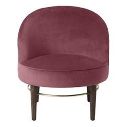 Club Lounge Chair, H77 x D66cm, rouge