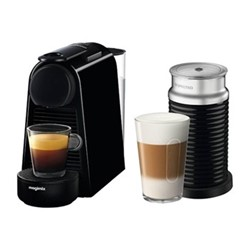 Essenza Mini with Aeroccino Coffee machine by Magimix, black