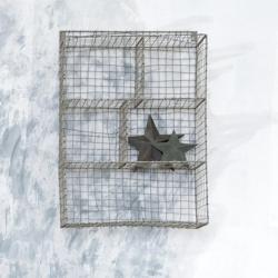 Locker Room Shelf - small, H52 x L33 x W16cm, Distressed Grey