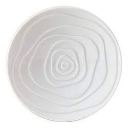 Onde White Set of 6 bread plates, 15.5cm
