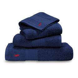 Player Bath towel, 75 x 140cm, marine