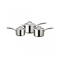 Ultimum - Stainless Steel 3 piece pan set, 16, 18, 20cm