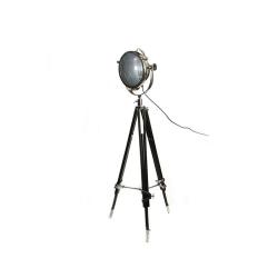 Rolls Headlamp Spotlight with tripod, H157 x W90cm, Black Wood Tripod