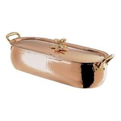Historia Fish kettle, L50 x W17cm, copper