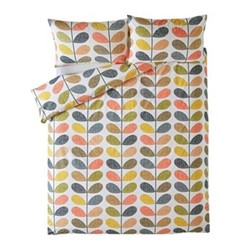 Scribble Stem King size quilt cover, 230 x 220cm