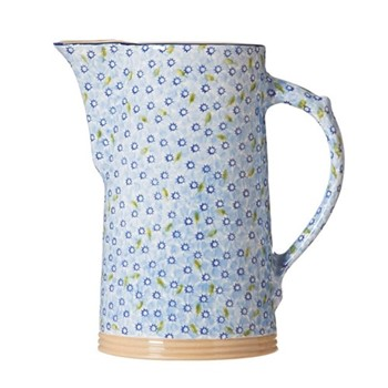 Lawn XL jug, H26cm, light blue