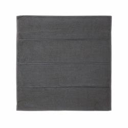 Adagio Bath mat, 60 x 60cm, dark grey