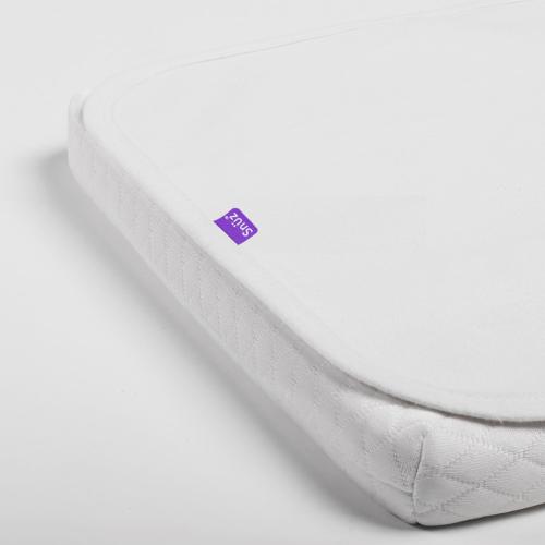 SnuzPod3 Waterproof mattress protector, W44 x L80cm, White