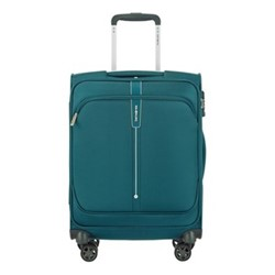 Popsoda Spinner suitcase, 55 x 35 x 20cm, teal