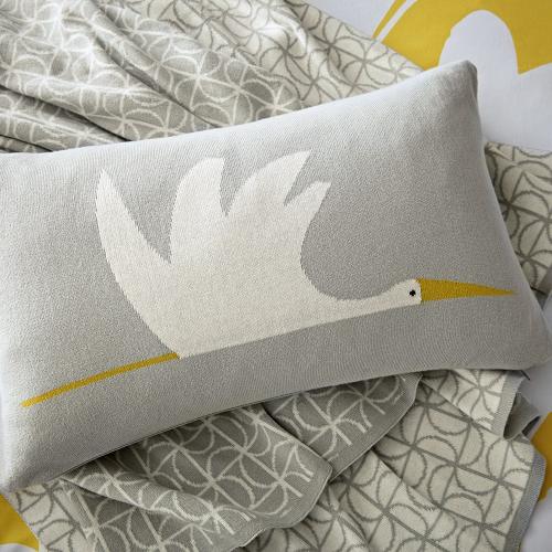 Ocotillo Cushion, 30 x 50cm, Grey