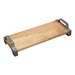 Industrial Kitchen Serving tray, 40 x 15 x 7.5cm, mango wood